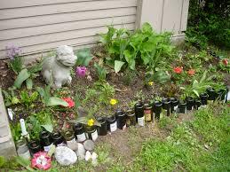 creative backyard fence ideas for garden edging best stylish pine