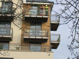 Balconies Supporting A Walk Out Balcony
