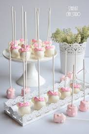 how to make marshmallow pops for baby shower images baby shower