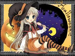 anime halloween wallpaper anime halloween witch cartoon halloween sorceress images