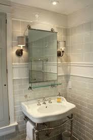 mirror tiles for bathroom silver uniform brick mirror glass tile