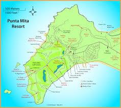 Mexico Resorts Map punta mita map adriftskateshop