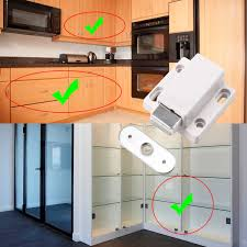 Magnetic Catches For Kitchen Cabinets 10 Magnetic Push To Open Touch Latch Catch Cabinet Cupboard Door