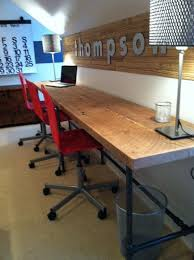 Extra Long Computer Desk Option For Kids Area With Trofasts Underneath Instead Diy 12