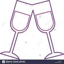 champagne toast cartoon champagne flute illustration stock photos u0026 champagne flute