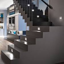 Led Lights For Home Interior Home Interior Awesome Modern Led Stair Way Lighting Concept