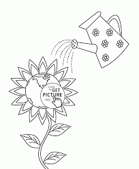 lets nurture earth day coloring page for kids coloring pages