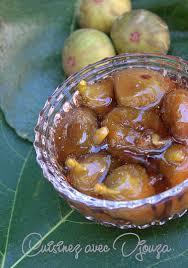 cuisiner les figues recette confiture de figues vertes entieres recettes faciles