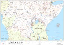Chad Map Logistics Cluster