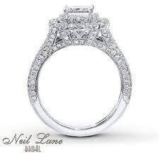 neil bridal set neil bridal set 2 1 4 ct tw diamonds 14k white gold polyvore