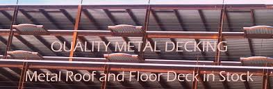 quality metal decking architectural metal roof and wall panels