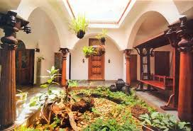 inspiring traditional indian house interior and small courtyard