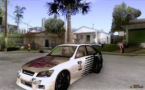 tuned lexus is300 is300 drift style for gta san andreas