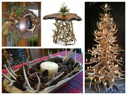 christmas antler decorations ideas rustic home decor youtube