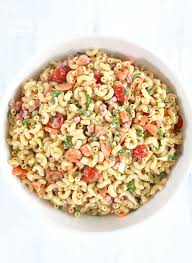 summer pasta salad ease and carrots