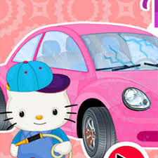 kitty car wash repair kids