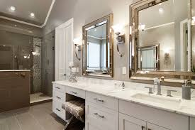 Beveled Mirror Bathroom Beaded Beveled Mirror Contemporary Bathroom Sherwin Williams