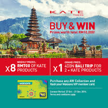 travel contests images Kate buy win contest contests events malaysia png