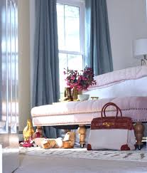Pink And Gold Bedroom by South Shore Decorating Blog Room Reveal Pink And Gold Feminine