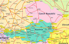 map germany austria index of images rail