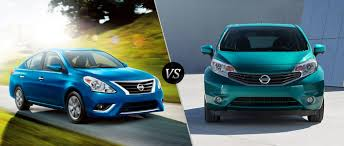 nissan versa sedan 2016 2016 nissan versa vs 2016 nissan versa note