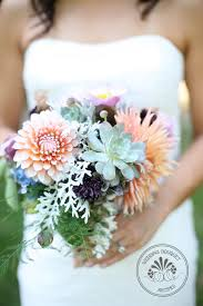succulent bouquet dahlia and succulent wedding bouquet recipes