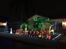 best christmas lights for house best neighborhoods for christmas lights in broward county fl this