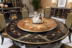 dining table with rotating antique wooden rotating dining table tn 029n