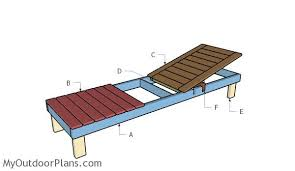 Free Building Plans For Outdoor Furniture by Chaise Lounge Plans Myoutdoorplans Free Woodworking Plans And