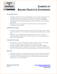 Chef Resume Objective Examples 6 resume objective samples questionnaire template