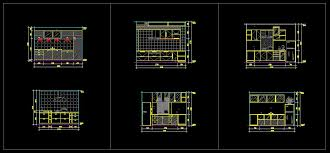 kitchen design template cad files dwg files plans and