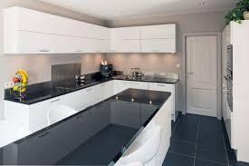cuisine moderne cuisine moderne blanc laque et gris homewreckr co