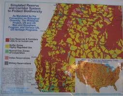 Southern Oregon Map by Wildlands Project