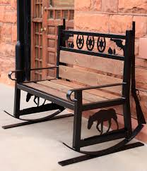 Western Rocking Chair Bench Butterfly Chair Amazing Metal Butterfly Bench West Elm Mid