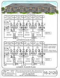8 unit apartment building plans building designs by stockton plan 16 2120 apartment plans