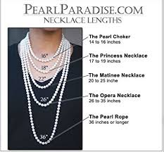 pearl necklace lengths images 14k triple strand freshwater cultured pearl necklace jpg