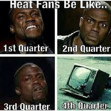 Heat Fans Meme - the web makes fun of heat fans players after spurs third win