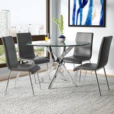 modern dining room set modern dining room sets you ll wayfair