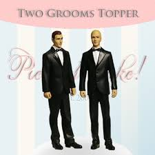 groom cake toppers second marketplace two grooms cake topper