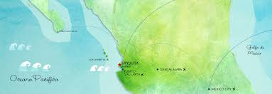 Bucerias Mexico Map by Contact Lunazul Surf U2014surf Camps U0026 Surf Lessons In Sayulita