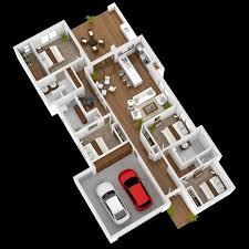 House With 4 Bedrooms 50 Four U201c4 U201d Bedroom Apartment House Plans Ideachannels