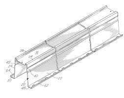 where to buy garage door struts patent us20120111508 garage door with reinforcing truncated