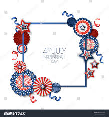 4th july usa independence day vector stock vector 668287936
