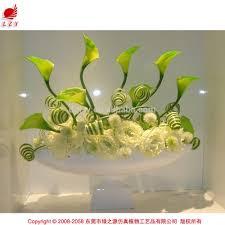 lzy arts artificial flower mini calla lily real touch white calla