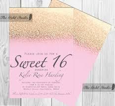 Sweet 16 Invitation Cards Custom Made Sweet 16 Invitations Disneyforever Hd Invitation