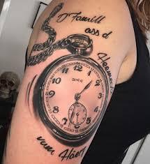 tattoos männer sprüche uhr tattoos 25 ideen bedeutungen bilder und entwürfe