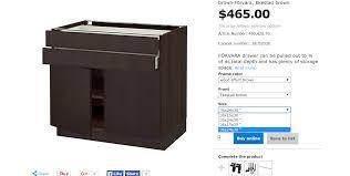 ikea shallow kitchen cabinets narrow depth kitchen base cabinets best cabinets decoration