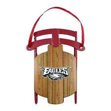 philadelphia eagles ornament metal sled metals and products