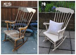 Rocking Chair For 1 Year Old Best 25 Rocking Chair Makeover Ideas On Pinterest Rocking Chair