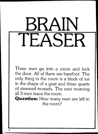 brain teaser and mind field fasttrack